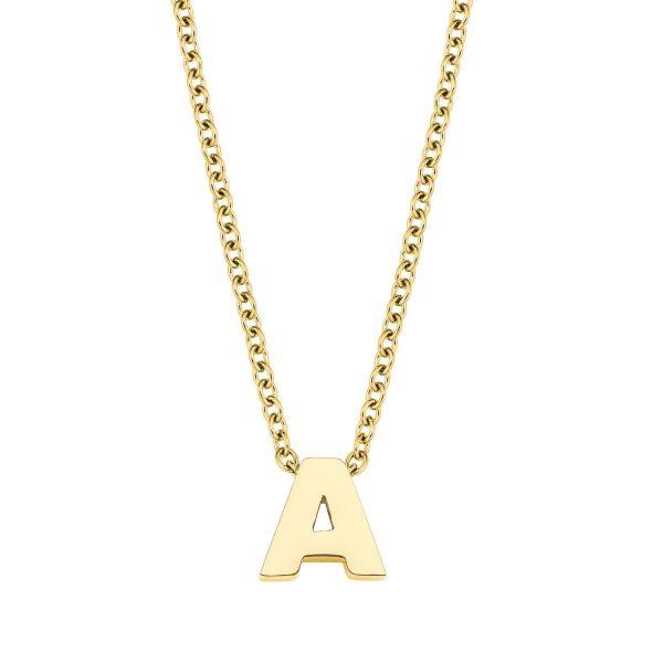 Amor Damen Kette mit Buchstaben Anhänger A-Z