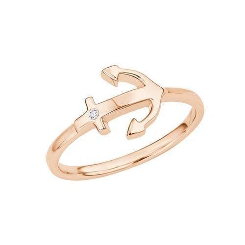 s.oliver ring anker rose