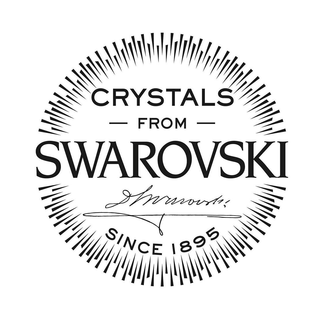 NOELANI Damen-Ohrstecker Sterne rosévergoldet veredelt mit Kristallen von Swarov